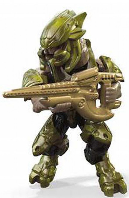 Halo 10th Anniversary Series Green Elite Common Minifigure [Loose]