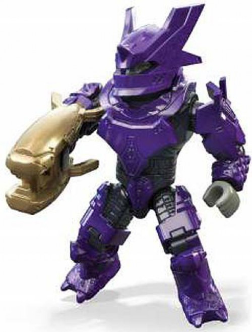 Halo 10th Anniversary Series Purple Brute Common Minifigure [Loose]