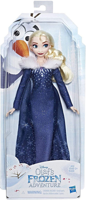Disney Frozen Olaf's Frozen Adventure Fashion Elsa 11.5-Inch Doll (Pre-Order ships April)