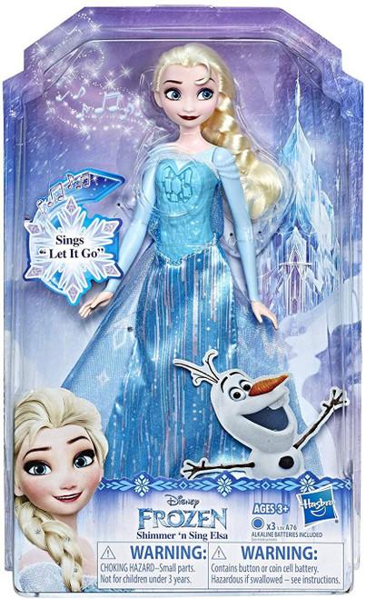 Disney Frozen Shimmer 'N Sing Elsa 11-Inch Doll