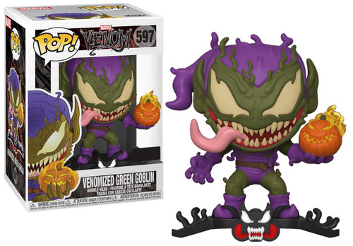 Funko Marvel Universe POP! Marvel Venomized Green Goblin Exclusive Vinyl Figure #597