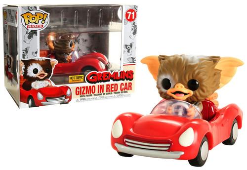 Funko Gremlins POP! Rides Gizmo in Red Car Exclusive Vinyl Figure #71