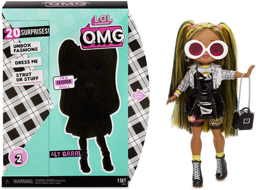 LOL Surprise OMG Series 2 Alt Grrrl Fashion Doll