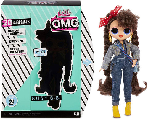 LOL Surprise OMG Series 2 Busy B.B. Fashion Doll