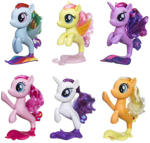 My Little Pony The Movie Mane 6 Seapony Figure 6-Pack