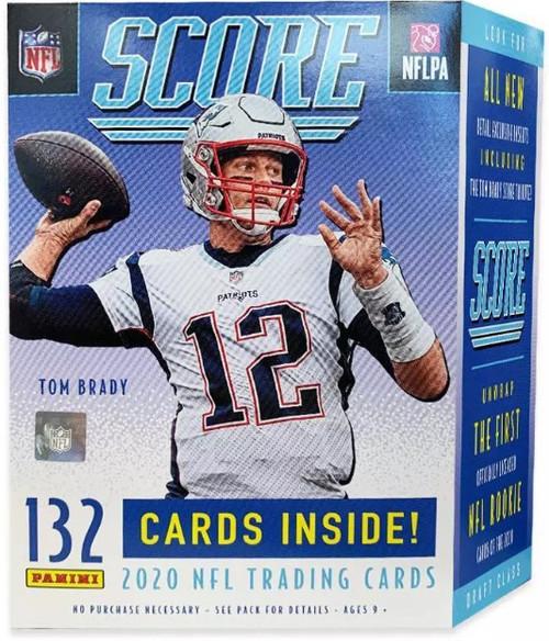 NFL Panini 2020 Score Football Trading Card BLASTER Box [11 Packs, 1 Memorabilia Card]