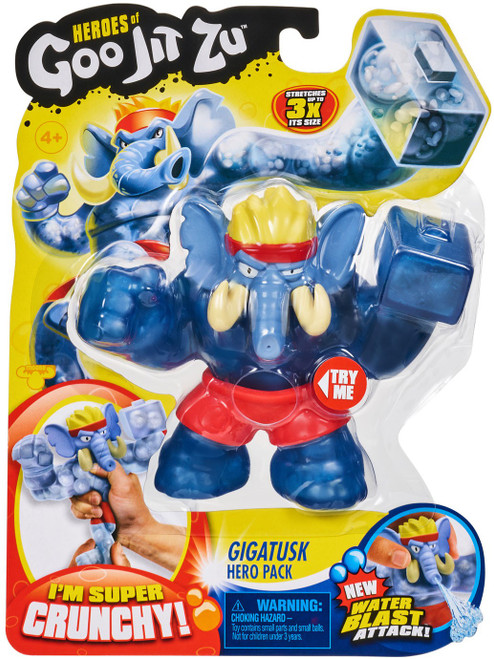 Heroes of Goo Jit Zu Gigatusk Action Figure [Elephant, Water Blast]