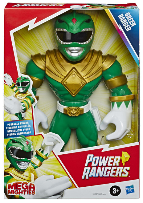 Power Rangers Playskool Heroes Mega Mighties Green Ranger Figure
