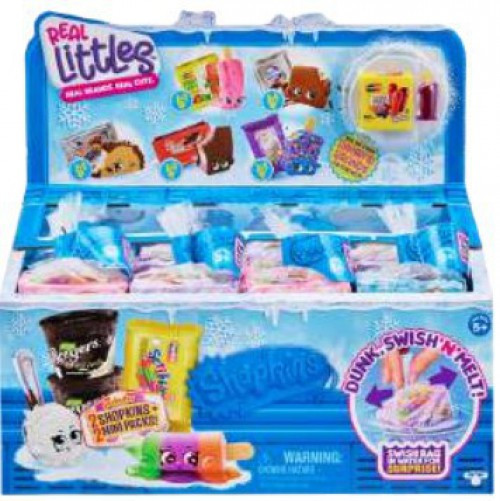 Shopkins Real Littles Season 13 Mini Packs! Mystery Box [24 Packs]
