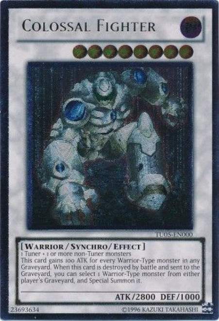 YuGiOh Turbo Pack: Booster Five Ultimate Rare Colossal Fighter TU05-EN000