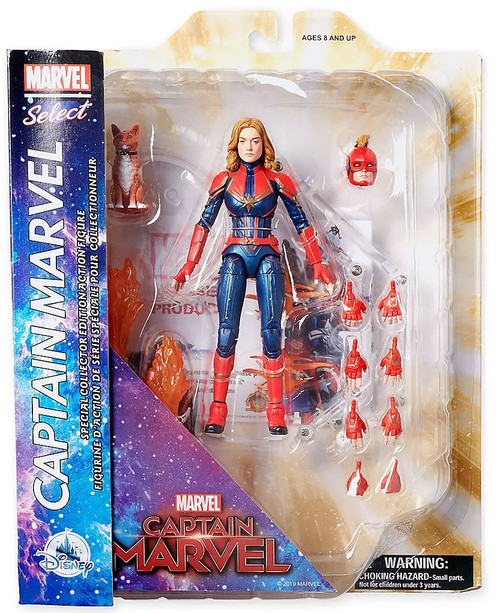 Marvel Select Captain Marvel Exclusive Action Figure [Collector Edition, Damaged Package]