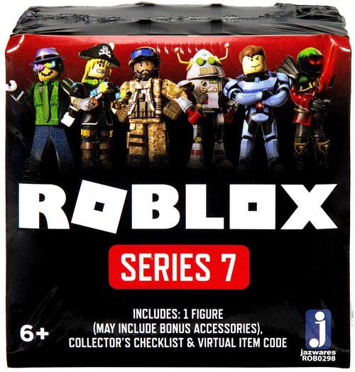 Roblox Series 7 Mystery Pack [Black Cube, 1 RANDOM Figure & Virtual Item Code!]