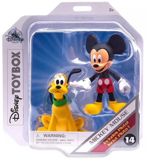 Disney Toybox Mickey Mouse & Pluto Exclusive Action Figure [2020]
