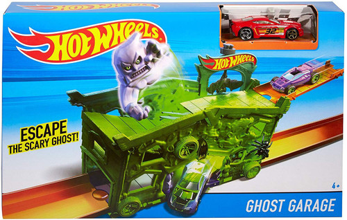 Hot Wheels City Ghost Garage Diecast Car Playset