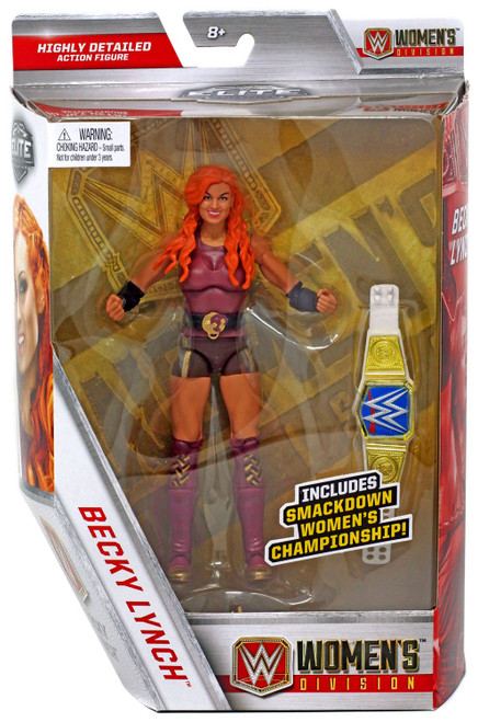 WWE Wrestling Elite Collection Women's Division Becky Lynch Exclusive Action Figure [Damaged Package]