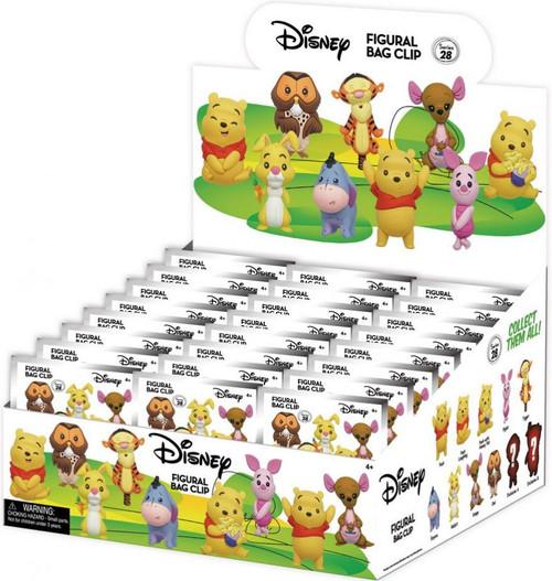 Disney 3D Figural Keyring Series 28 Winnie the Pooh Mystery Box [24 Packs]