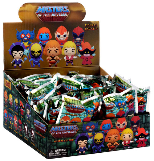 3D Figural Keyring He-Man and the Masters of the Universe Series 1 Mystery Box [24 Packs]
