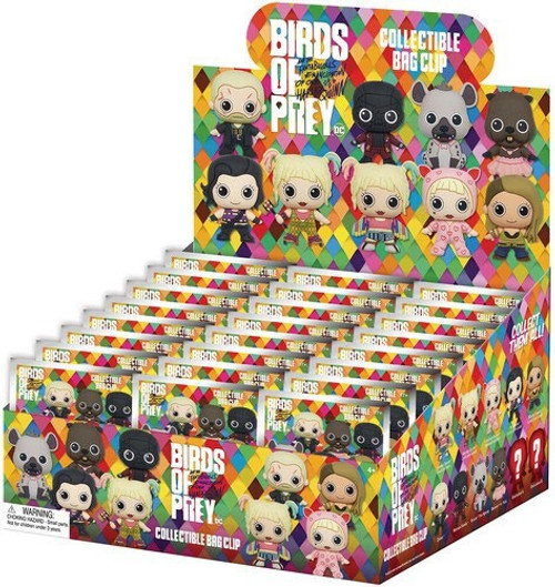 DC 3D Figural Keyring Birds of Prey Series 1 Mystery Box [24 Packs]