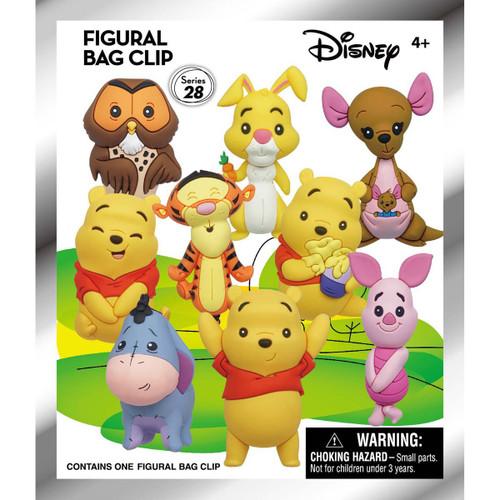 Disney 3D Figural Keyring Series 28 Winnie the Pooh Mystery Pack [1 RANDOM Figure]