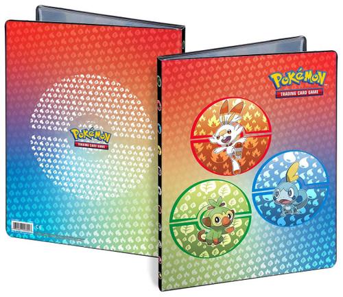 Ultra Pro Pokemon Trading Card Game Sword & Shield Galar Starters 9-Pocket Portfolio