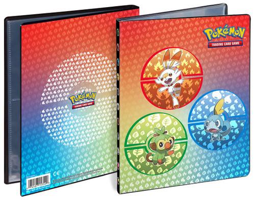 Ultra Pro Pokemon Trading Card Game Sword & Shield Galar Starters 4-Pocket Portfolio