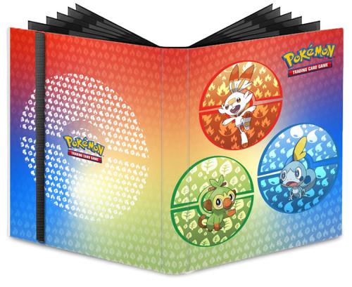 Ultra Pro Pokemon Trading Card Game Sword & Shield Galar Starters 9-Pocket Pro Binder