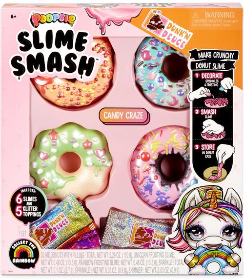 Poopsie Slime Surprise! Dunk'N Deuce Slime Smash Donut 4-Pack [RANDOM Set!]
