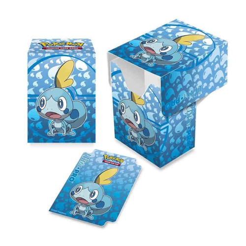 Ultra Pro Pokemon Trading Card Game Sword & Shield Galar Starters Deck Box [Sobble]