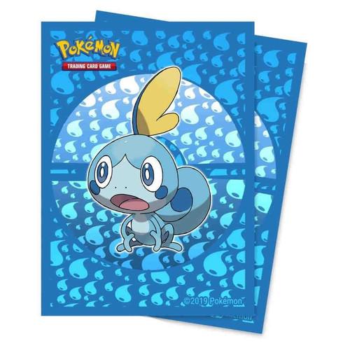 Ultra Pro Pokemon Trading Card Game Sword & Shield Galar Starters Card Sleeves Standard [Sobble]