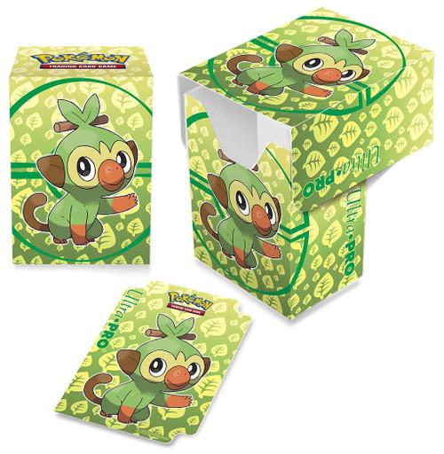 Ultra Pro Pokemon Trading Card Game Sword & Shield Galar Starters Deck Box [Grookey]