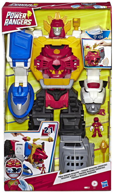 Power Rangers Playskool Heroes Power Morphin Megazord Figure Set