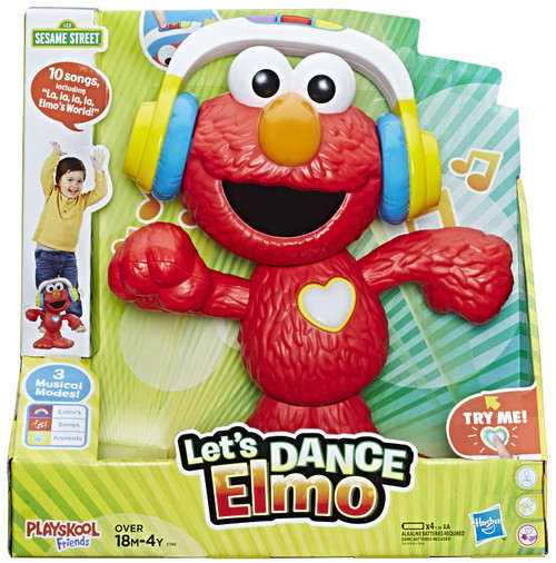 Sesame Street Let's Dance Elmo Figure (Pre-Order ships April)