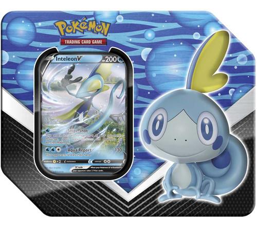 Pokemon Trading Card Game Galar Partners Inteleon V Tin [5 Booster Packs & Promo Card]
