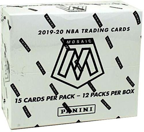 NBA Panini 2019-20 Prizm Mosaic Basketball Trading Card CELLO Box [12 Packs]
