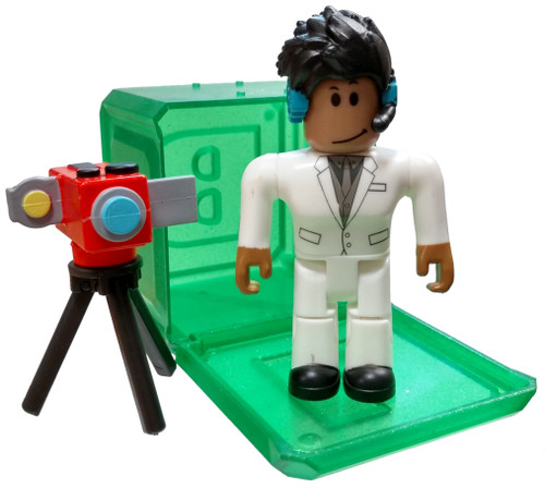 Roblox Celebrity Collection Series 4 Bloxtuber 3-Inch Mini Figure [with Green Cube and Online Code Loose]