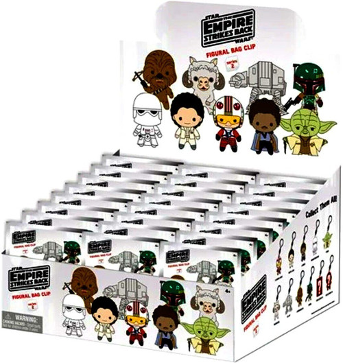 3D Figural Foam Bag Clip Star Wars Series 2 The Empire Strikes Back Mystery Box [24 Packs]