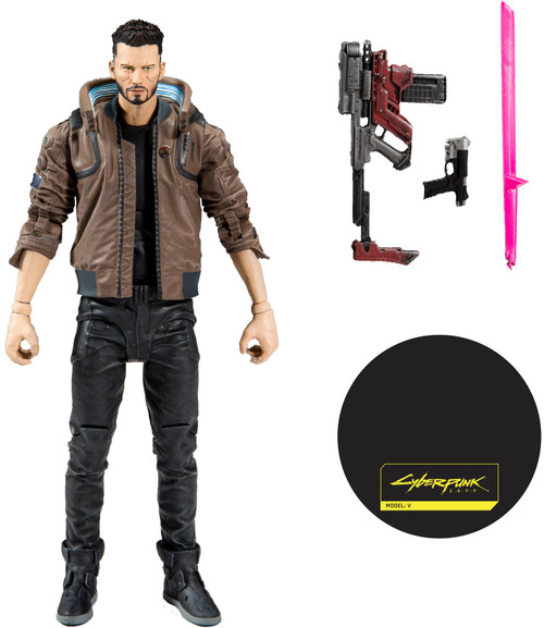 McFarlane Toys Cyberpunk 2077 V Action Figure