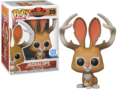 Funko POP! Myths Jackalope Exclusive Vinyl Figure #20