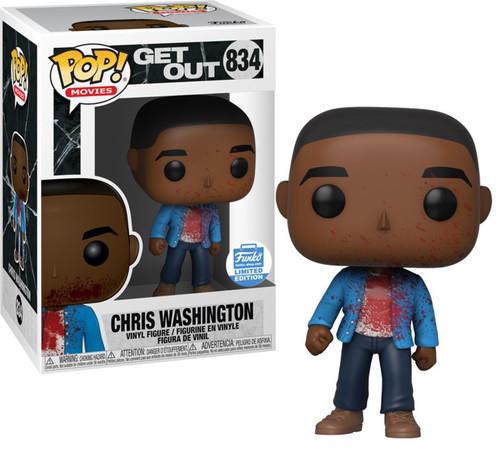 Funko Get Out POP! Movies Chris Washington Exclusive Vinyl Figure #834 [Bloody]