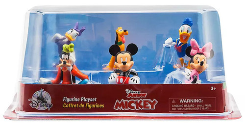 Disney Mickey Mouse Clubhouse Exclusive 6-Piece PVC Figure Play Set
