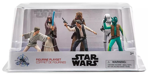 Disney Star Wars A New Hope Cantina Exclusive 6-Piece PVC Figure Play Set