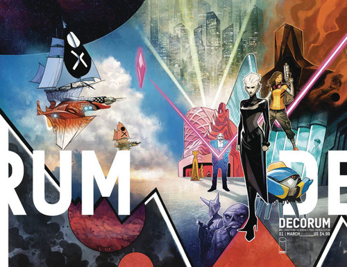 Image Comics Decorum #1 Comic Book [Jonathan Hickman]