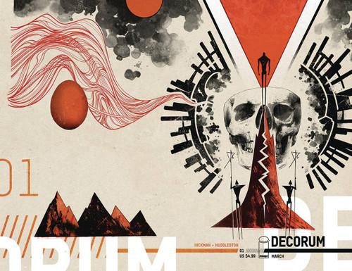 Image Comics Decorum #1 Comic Book [Mike Huddleston Variant Cover]