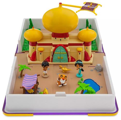 Disney Princess Aladdin Jasmine Storybook Exclusive Playset