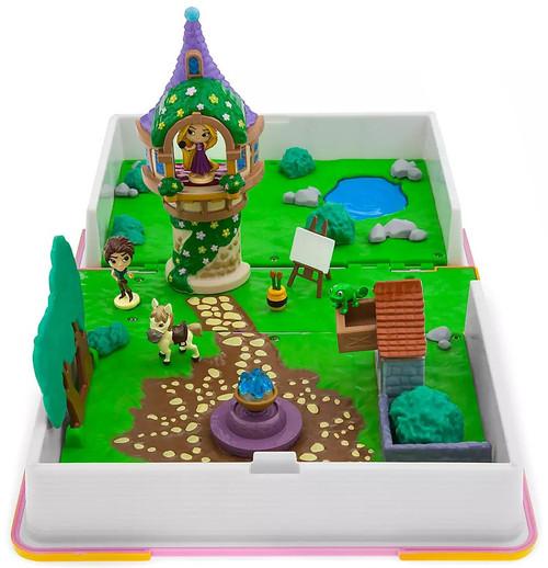 Disney Princess Tangled Rapunzel Storybook Exclusive Playset