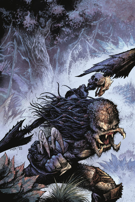 Dark Horse Predator III #2 of 4 Comic Book [Jonathan Wayshak Glow in the Dark Ink Variant Cover]