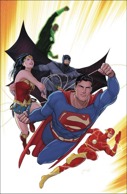 DC Justice League #42 Comic Book [Arthur Adams Variant Cover]