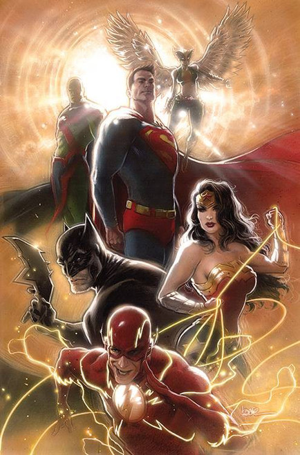 DC Justice League #43 Comic Book [Jamal Campbell Variant Cover]