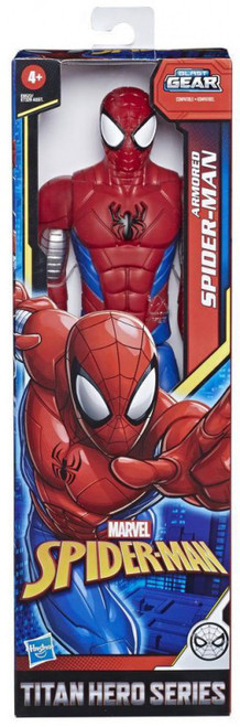 Titan Hero Series Web Warriors Armored Spider-Man Action Figure [2020]