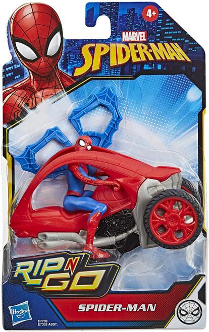 Marvel Rip-n-Go Spider-Man Action Figure (Pre-Order ships October)